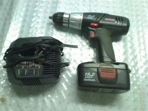 craftsman drill battery charger not working craftsman 18 volt cordless drill battery light charger