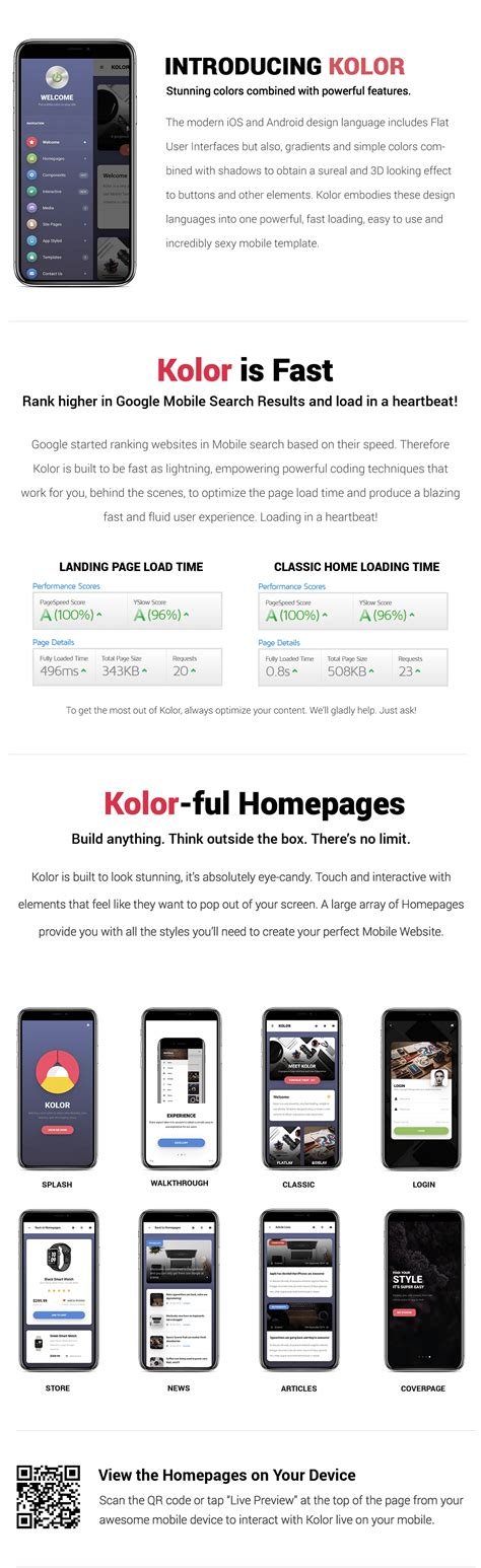 Kolor Phonegap Cordova Mobile App By Enabled Codecanyon Cordova Mobile App Template