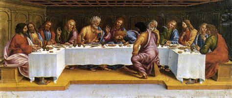 Last Supper Wall Mural ufoforum it leggi argomento ultima cena di leonardo