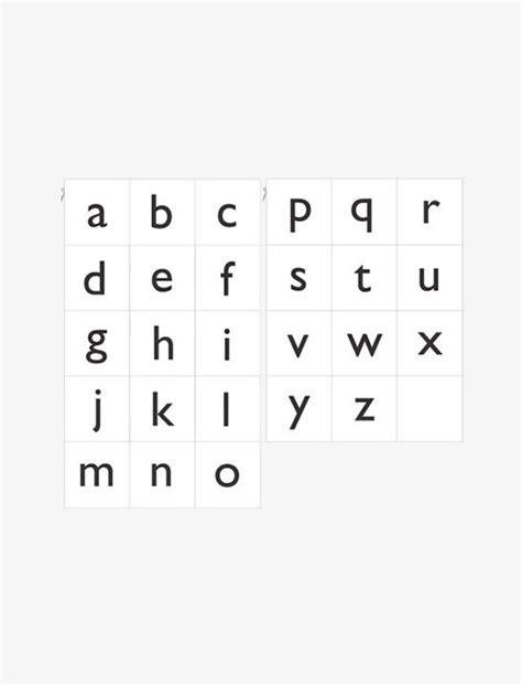 printable alphabet lower case common worksheets lowercase alphabet letters printable