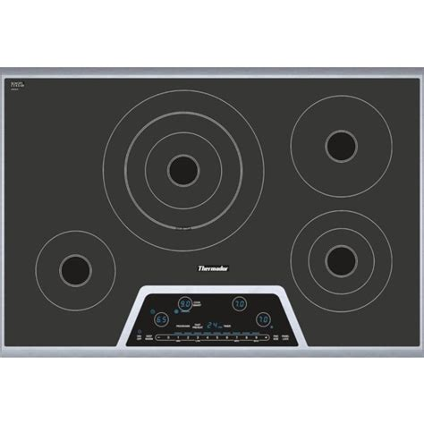 Thermador Cooktop Electric thermador cet304ns 30 quot masterpiece 174 series electric cooktop