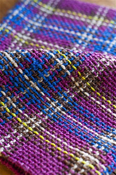 tartan knitting princess franklin plaid collar stitches in time