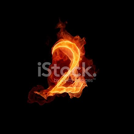 Fiery Numbers Stock Photos Images Fiery Number 2 Stock Photos Freeimages