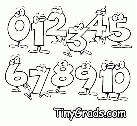 arabic numbers coloring pages free coloring pages of arabic numbers 1 10
