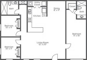 3 bedroom 2 bathroom floor plans floorplans 2 room google search floorplans pinterest