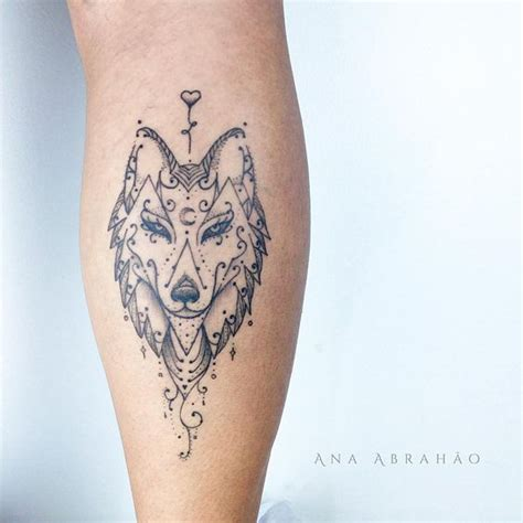 wolf tattoo for girl wolf top 150 wolf tattoos so far this year