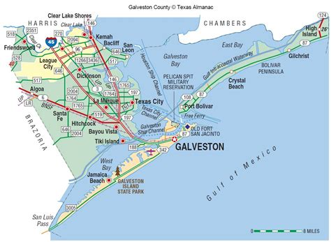 Maps Update #1100544: Galveston Tourist Map ? Galveston