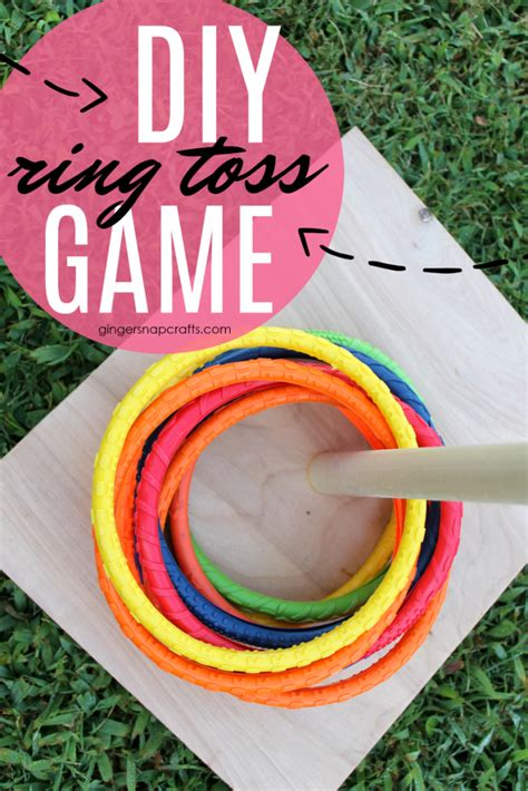Safsof See Saw Ring Toss diy ring toss a craft in your day