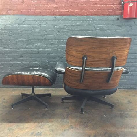 authentic eames lounge chair eames lounge chair in striking rosewood