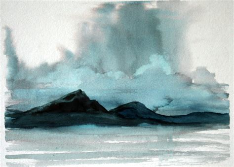 water painting watercolor possibly mixed media paintings the of