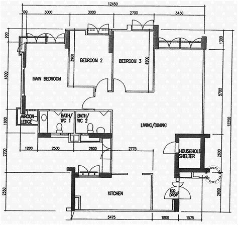 hdb floor plan floor plans for punggol field hdb details srx property