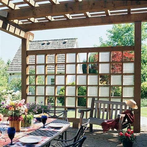 Garten Trennwand Gestalten by 28 Interessante Sichtschutz Ideen F 252 R Garten
