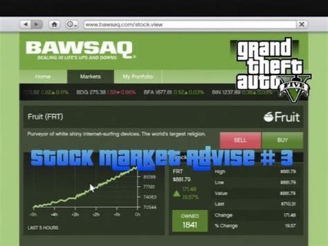 gta v fruit stock peak gta 5 stock market tip advise 3 when to buy fruit frt