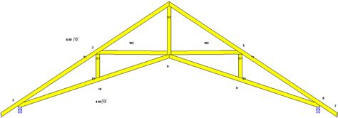 16 X 24 Garage Plans by Scissors Truss Www Pixshark Com Images Galleries With