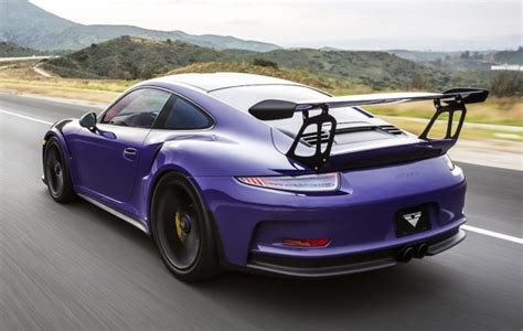 light purple porsche vorsteiner porsche 991 gt3 rs purple beast
