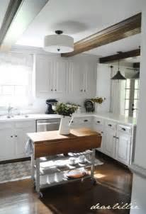 Semi Flush Kitchen Island Lighting Brightening Up The Hallway House Updated