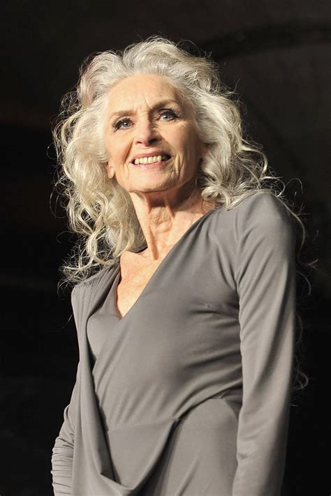hairstyles for 85 yr old woman watch the world s oldest supermodel rocks new ad