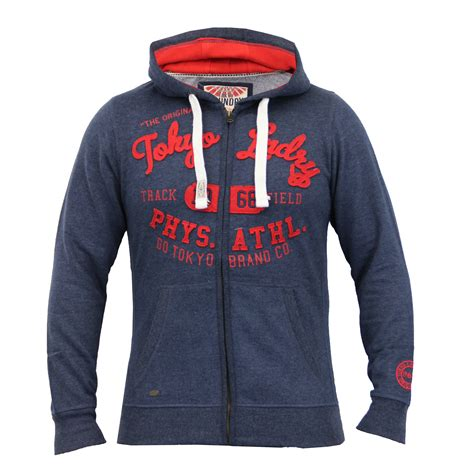 Hooded Applique Pullover mens sweatshirt tokyo laundry hooded top sweat applique