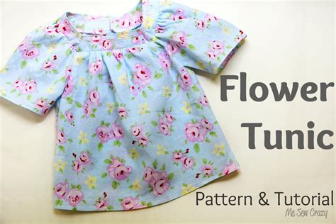 Tunic Flower by Flower Tunic Tutorial Pattern Included Sewing For