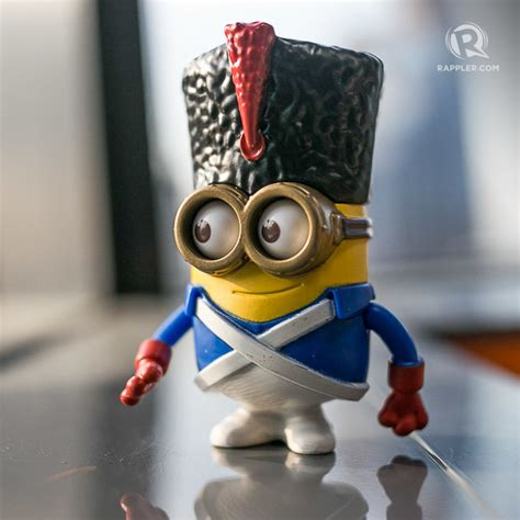 Minion Happy Meal Mcd Guard Minion minions to be back in mcdonalds happy meals see all 10