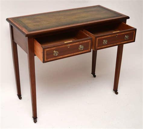 mahogany writing desk antique edwardian inlaid mahogany writing desk antiques