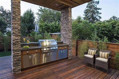 Patio Barbecue Designs Time To Cook A Bbq Area Design Ideasdesign Interior Design And Architecture Ideasdesign
