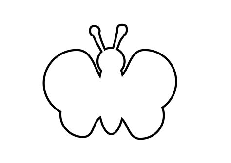 Butterflies Images Outline by Pin Butterfly Outline On