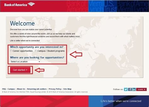 How To Apply For In Usa How To Apply For Bank Of America At
