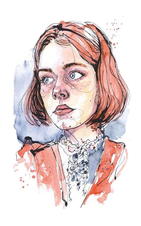 watercolor tutorial face best 25 watercolor sketch ideas on pinterest