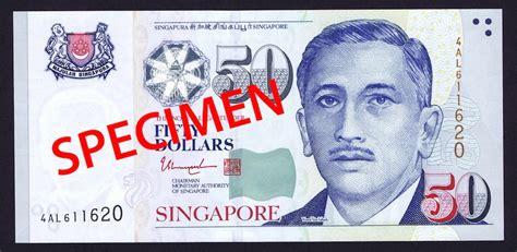 new year notes singapore tharman shanmugaratnam s signature on new singapore 50