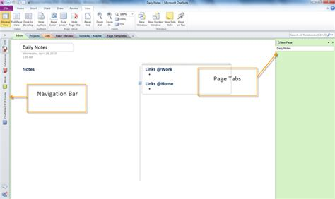 gtd with outlook 2010 and onenote 2010 processing and organizing