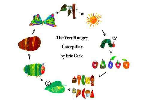 Hungry Caterpillar Story Pictures