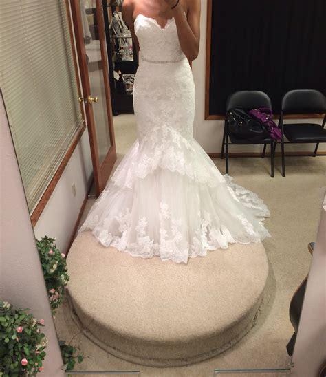 Dress Jodie enzoani jodie size 6 wedding dress oncewed