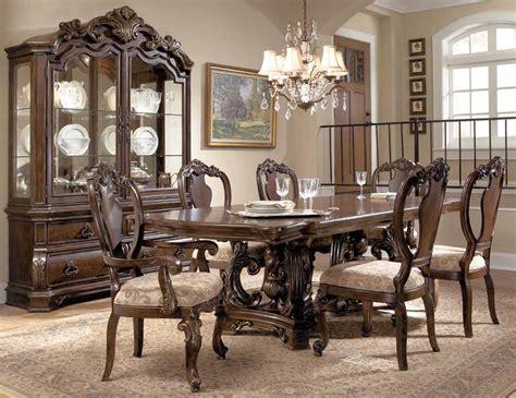 pulaski dining room furniture pulaski wellington manor dining collection 962240 1 set