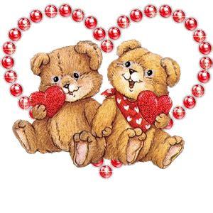 imagenes de osos con rosas y corazones corazones brillosos imagenes para facebook de osos