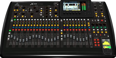 Mixer Audio Beringer behringer x32 digital 32 channel audio mixer samash