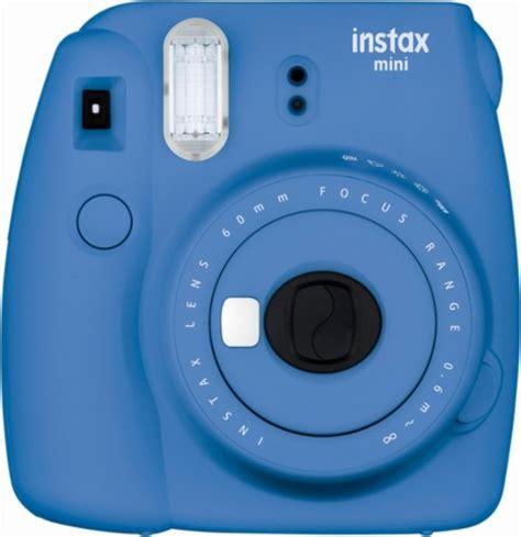 instax fuji fujifilm instax mini 9 instant blue 16550667