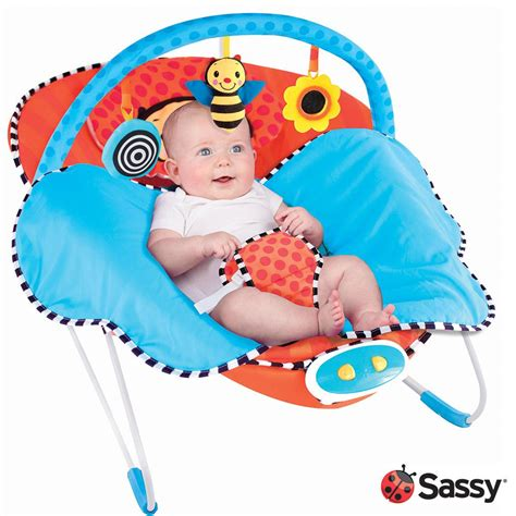 Bouncer Sugar Baby Infant Seat With Bar I Kursi Bayi sassy cuddle bug bouncer whimsical bumble bee infant bouncers and rockers baby