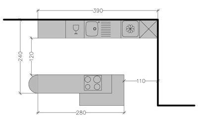 plan cuisine en parall鑞e 8 plans de cuisine parall 232 le 224 diff 233 rentes