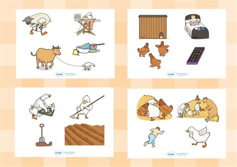 printable animal stories twinkl resources gt gt farmer duck story cut outs