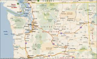 washington map washington state map