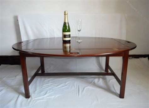 butler tray coffee table antiques atlas mahogany butlers tray topped coffee table