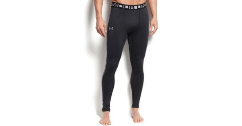Celana Mens Legging Armour Black lyst armour s cold gear compression in black for