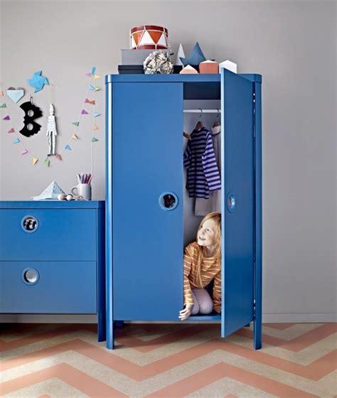 Wonderful Chambre Romantique Blanche #10: Commode-armoire-enfant-bleu-filles-gar%C3%A7ons.jpg