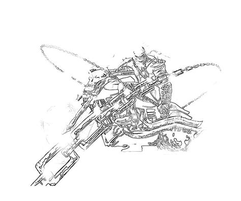 ghost rider coloring pages to print ghost rider ghost rider character supertweet