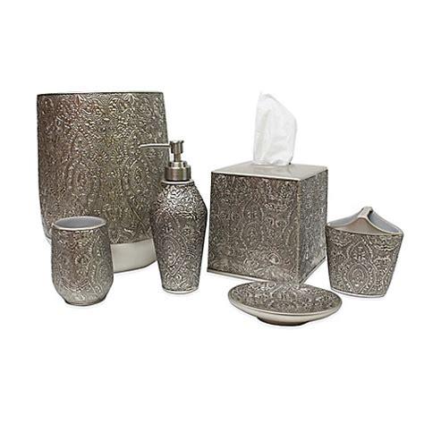 discontinued croscill bathroom accessories croscill 174 palladium bath ensemble bed bath beyond