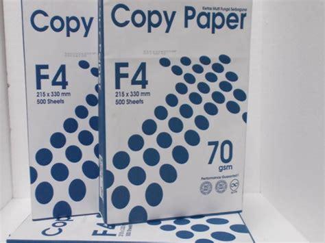 Kertas Hvs Paper One A480 Gram jual kertas hvs ukuran f4 70 gram harga murah cikarang oleh cv jase technic