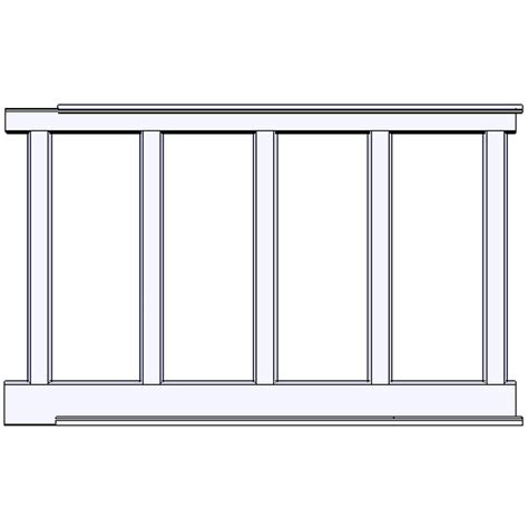 Recessed Panel Wainscoting Kits Item Rcw 60