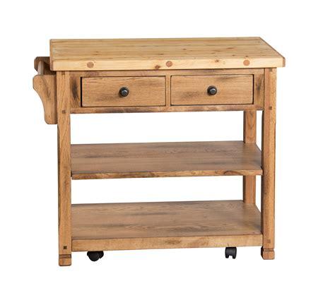 oak kitchen island cart designs sedona rustic oak kitchen island cart the