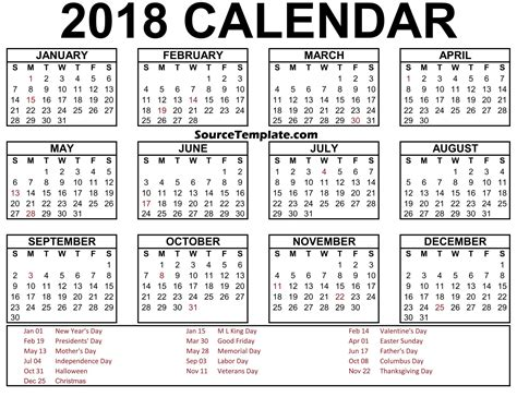 printable art calendar 2018 calendar clipart printable template free download